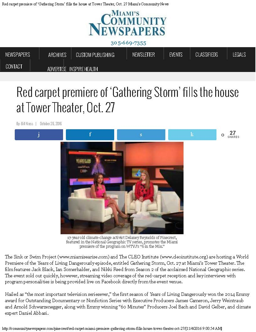 Red carpet premiere of 'Gathering Storm' fills the house at Tower Theater, O_Page_1