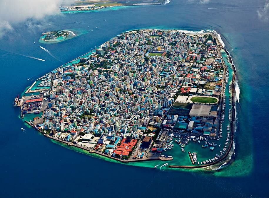 Male - Capital of the Maldives Islands
