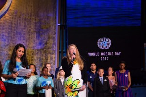 #MyOceanPledge Ceremony in NYC.